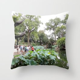 Shanghai Liu Garden | Jardin Liu Throw Pillow