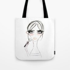 Morning MakeUp Tote Bag