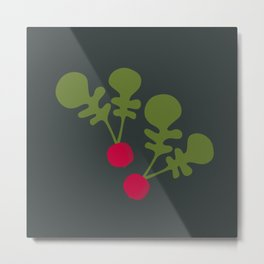 Vegetable Medley Metal Print