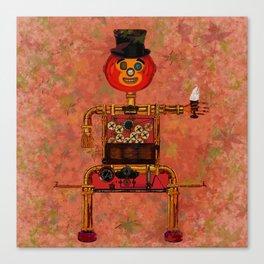 Steampunk Pumpkin Canvas Print