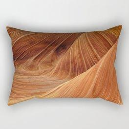 sandstone wave nature Rectangular Pillow