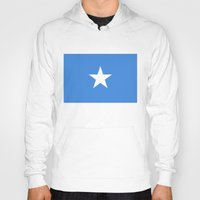 islam Hoodies featuring Somalian national flag - Authentic color and scale (high quality file) by Bruce Stanfield
