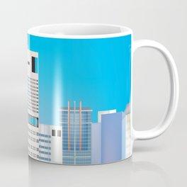Brisbane, Australia - Skyline Illustration by Loose Petals Coffee Mug