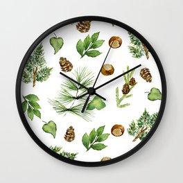 Chestnut Pines Wall Clock