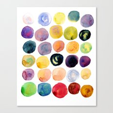 Watercolor Constellation Canvas Print