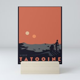 Visit Tatooine Mini Art Print