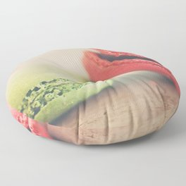pistachio & strawberry ... Floor Pillow