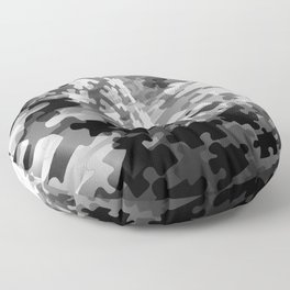 Picture of a Puzzled Mind Floor Pillow