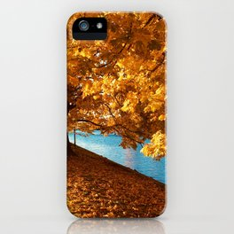 Perfect Autumn (Color) iPhone Case