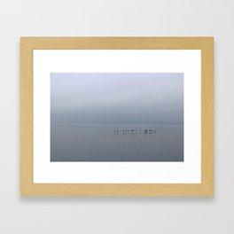 Wall of Fog Framed Art Print
