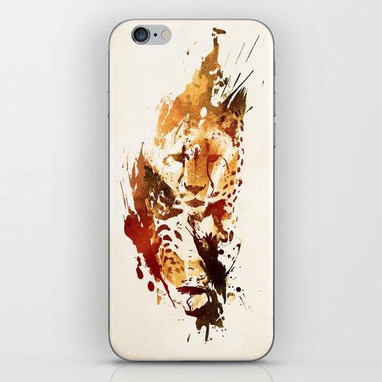 El Guepardo iPhone & iPod Skin