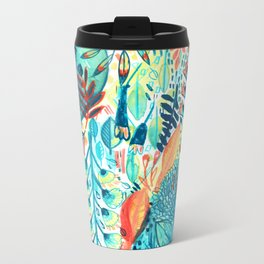 Pattern 27 Metal Travel Mug