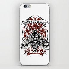 Buffalo Bill Lotion Poster iPhone Skin