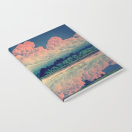 Admiring the Clouds in Kono Notebook