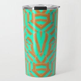 Carmel and Mint Travel Mug