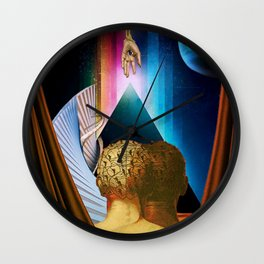 Above All Else Wall Clock