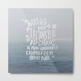 The Cruel Sea Metal Print