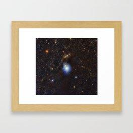 Young Star, Reflection Nebula IC 2631 Framed Art Print