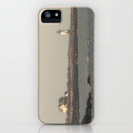 Hazy Straitsmouth lighthouse iPhone Case