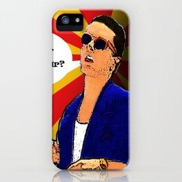 Falco Pop Art-ist iPhone Case