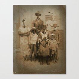 The Jazz Family Canvas Print