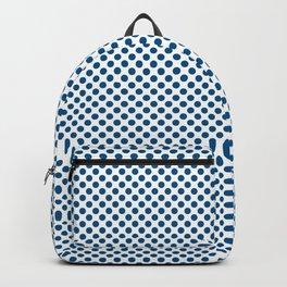 Snorkel Blue Polka Dots Backpack