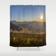 Sunrise on the Blue Ridge #2 Shower Curtain