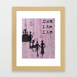 Under The Bell Jar  Framed Art Print