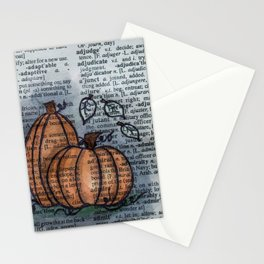 Pumpkin Pals Stationery Cards