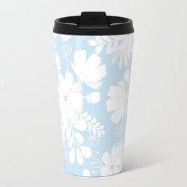 Sky florals Travel Mug