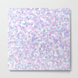 Geometric abstract lavender texture Metal Print