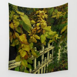 OLD FENCES COLOR Wall Tapestry