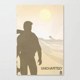Vector Uncharted Canvas Print
