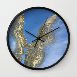 Be my Valentine & fly in the sky Wall Clock