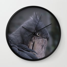 Shoebill Smile Wall Clock