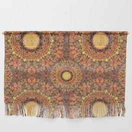 Marigold Mandala Wall Hanging