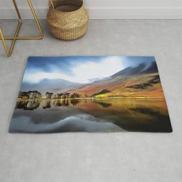 Buttermere (Painting) Rug