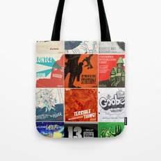 Station! Fantastic Cinematic - The Singles covers Tote Bag
