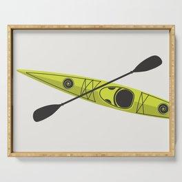 Kayak - Lime Green Serving Tray