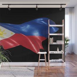 Philippine Flag 01 Wall Mural