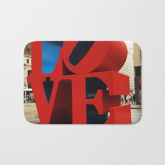 Love Sculpture - NYC Bath Mat