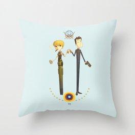 Battlestar couple Throw Pillow