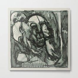 Spirit Mangle (Nigel Wright) Metal Print