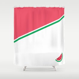 Mini Melon Shower Curtain