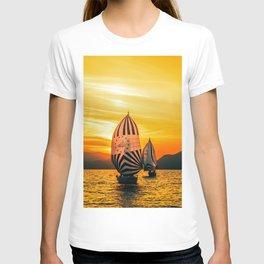 Sun regatta T-shirt