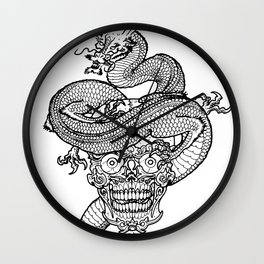 Everything is temporary Wall Clock