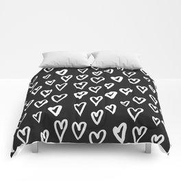 Hearts Pattern 02 Comforters