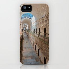 Abandoned Prison Corridor iPhone Case