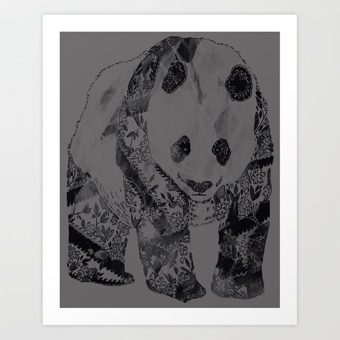 Tattooed Panda Threadless+GAP Winner :{D Art Print