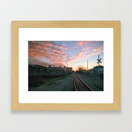 Big Sky Bywater, New Orleans Framed Art Print